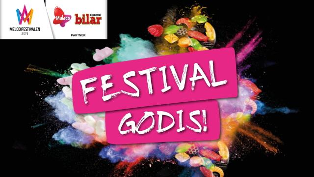 Tävla Om Festivalgodispaket Med 2 Biljetter Och 10 Kg Godis